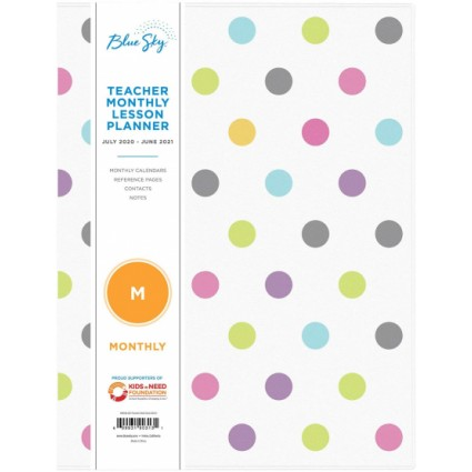 Blue Sky Teachers Weekly & Monthly Lesson Planner