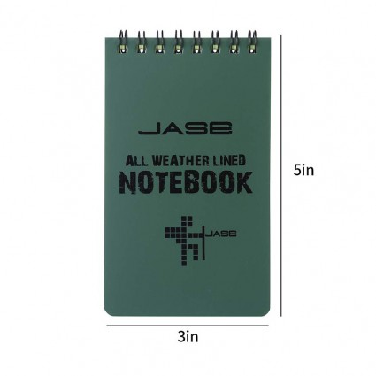 Cosmos All-Weather Lined Notepad