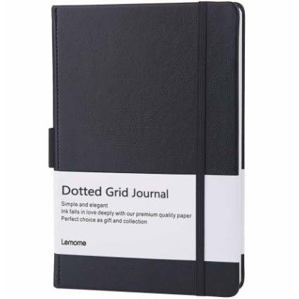 Lemome Dotted Leather Notebook