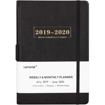 Lemome Planner with Pen Holder
