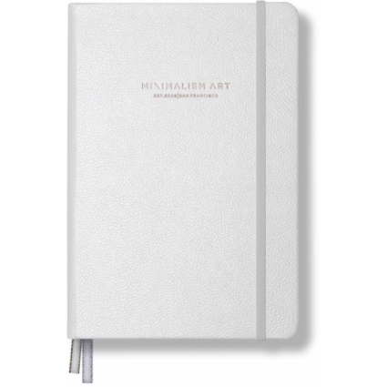 Minimalism Art Dotted Notebook