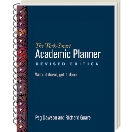 The Work-Smart Academic Planner