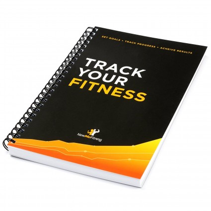Workout Log Book & Fitness Journal