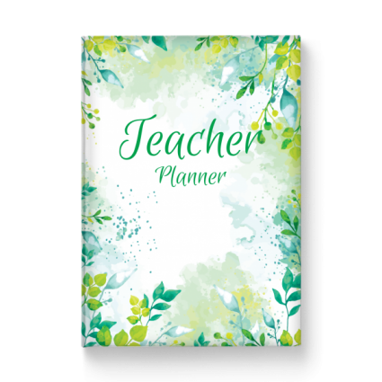 Custom Built Teacher Planner