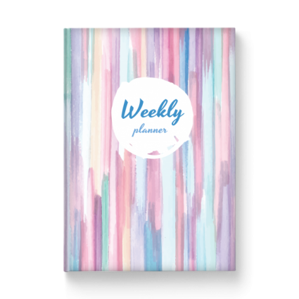 Custom Built Weekly Planner