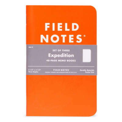Field Notes Expedition 5