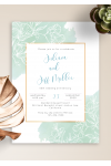 Download Gentle Floral Anniversary Invitation - Printable PDF