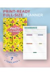 Printable Party Planner - Casual Style PDF Download