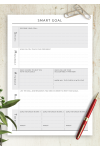 Download Personal SMART Goal Template - Printable PDF