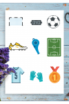 Download Sport Sticker Pack - Soccer - Printable PDF
