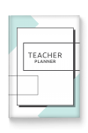 Printable Teacher Planner Hardcover - Original Style PDF Download