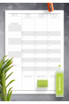Printable Two Page Weekly To Do List - Original Style PDF Download