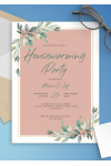 Download Willow Branch Housewarming Invitation - Printable PDF