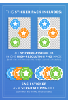 Download Handdrawn School Sticker Pack - Printable PDF
