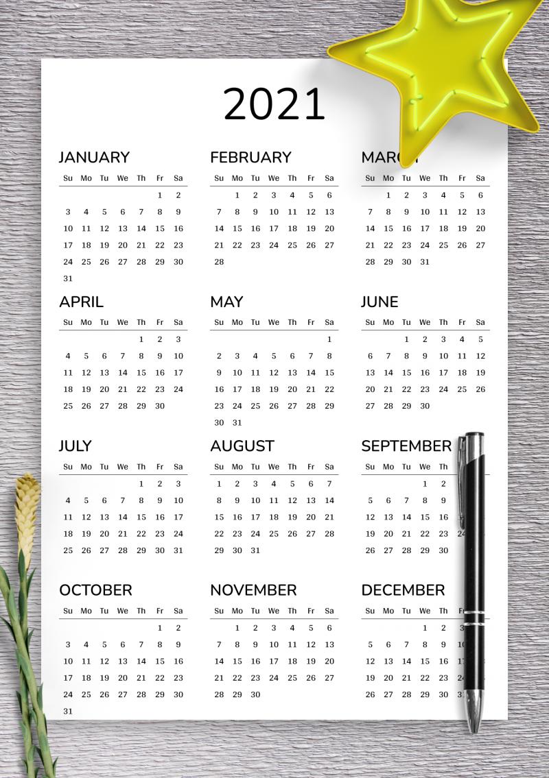 Blank Calendar August 2022 Printable.2021 2022 Printable Calendar For 2 Years