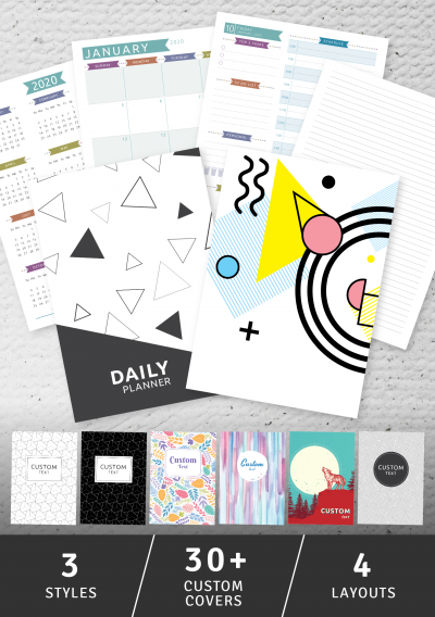 Download Daily Planner - Casual Style - Printable PDF