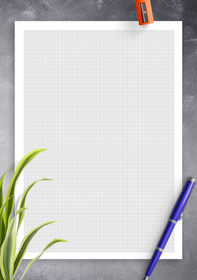 Download Engineering Graph Paper 1mm Squares - Printable PDF