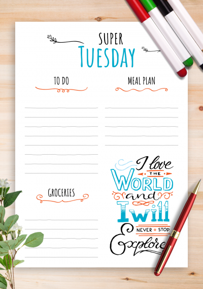 image regarding Free Printable Quotes Pdf titled Absolutely free Printable Weekly Planner with Function Quotations PDF Down load
