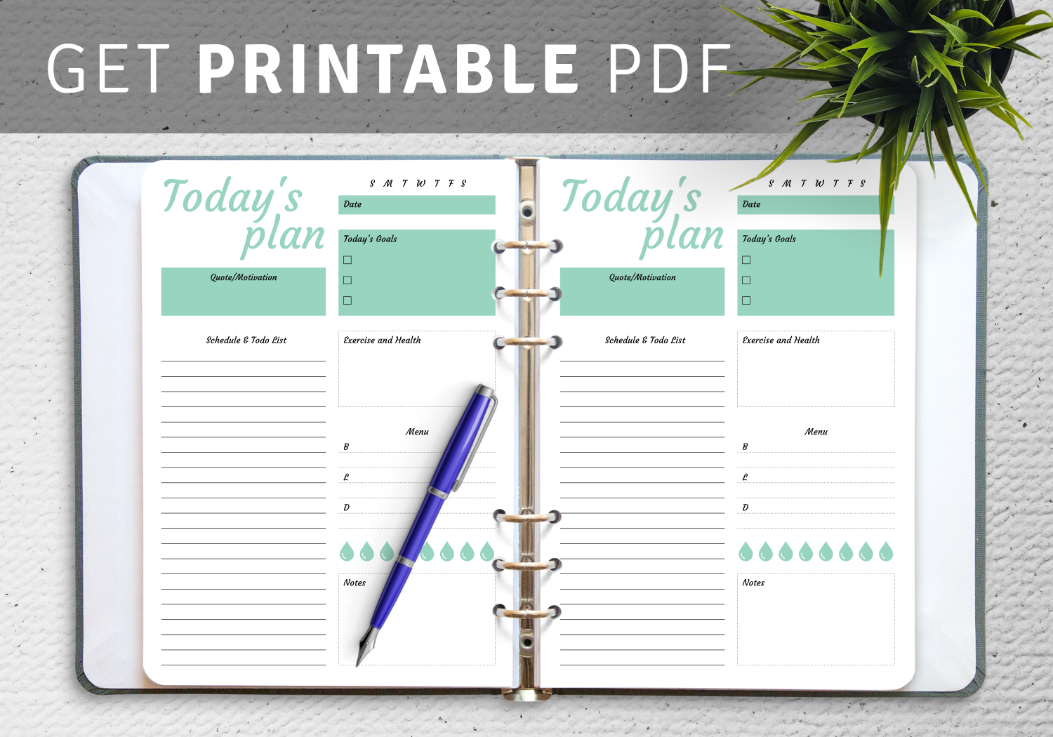Cute To Do list template   Download PDF