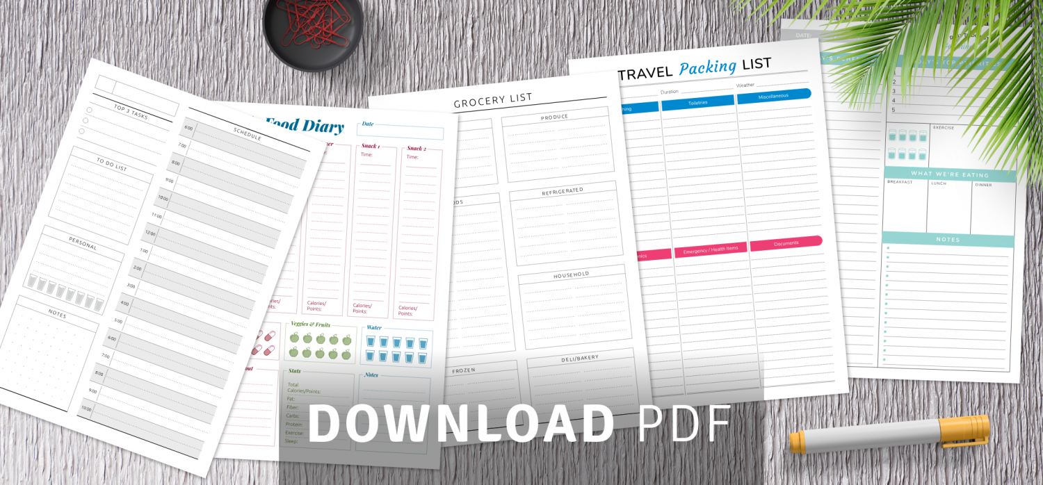 Best free printable templates
