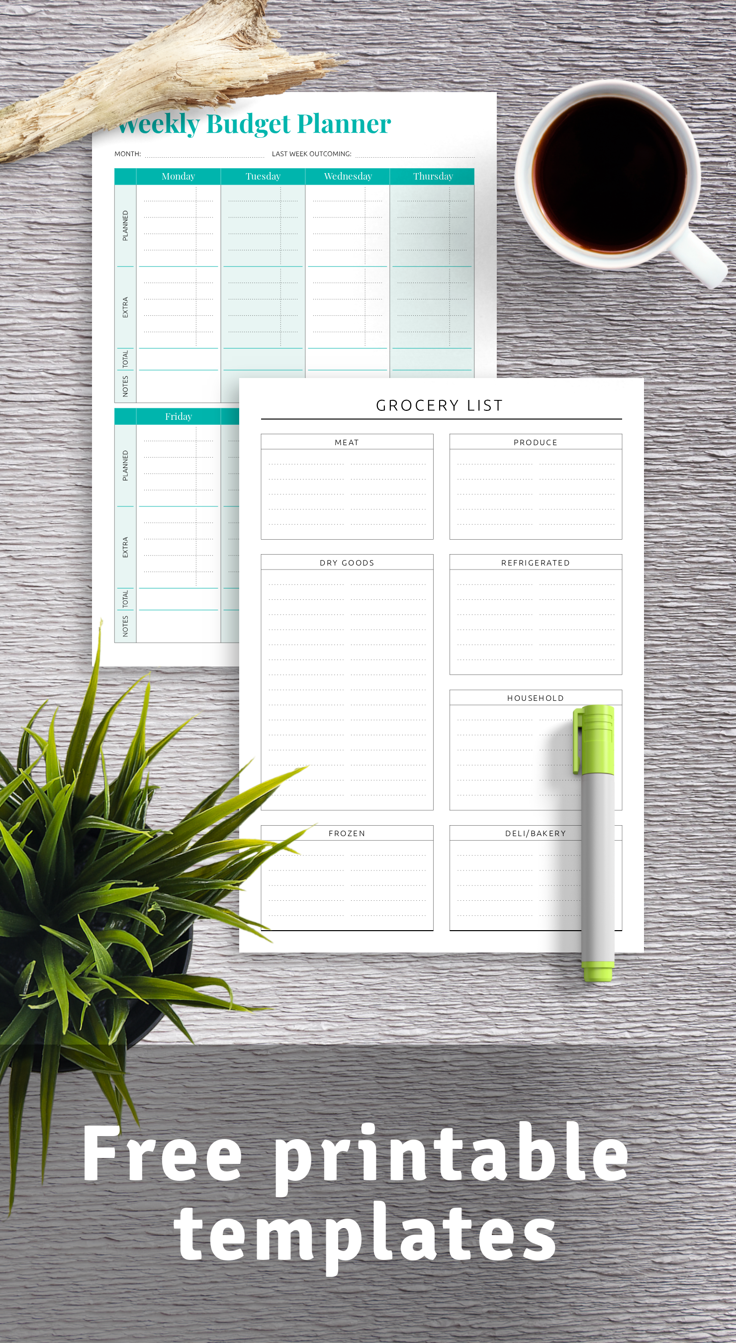 Download free printable templates