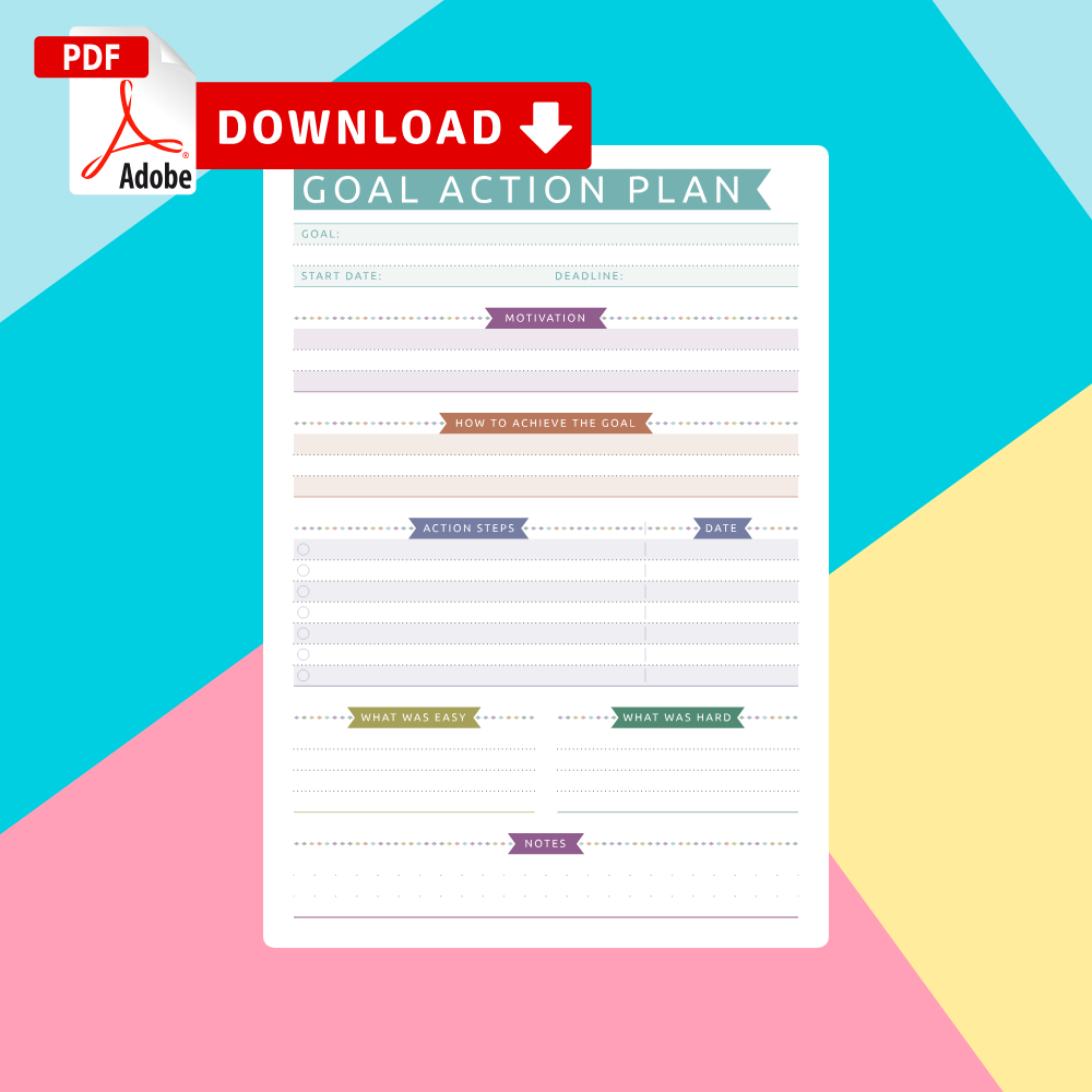 Download Goal Setting Templates