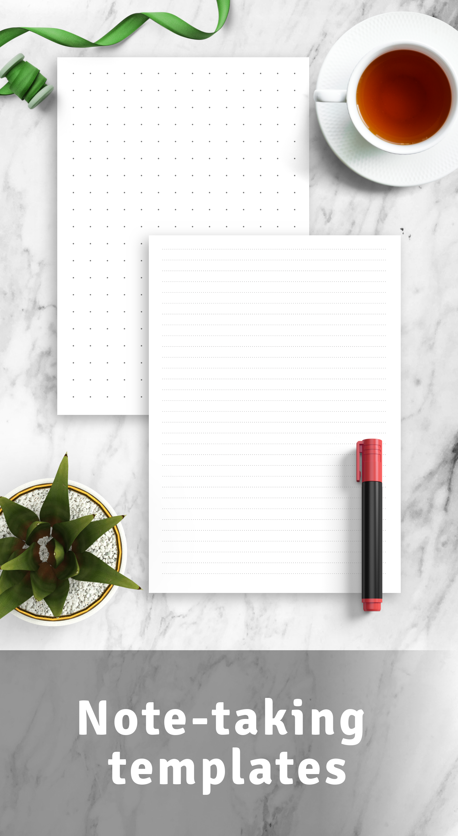 Download Note Taking Templates