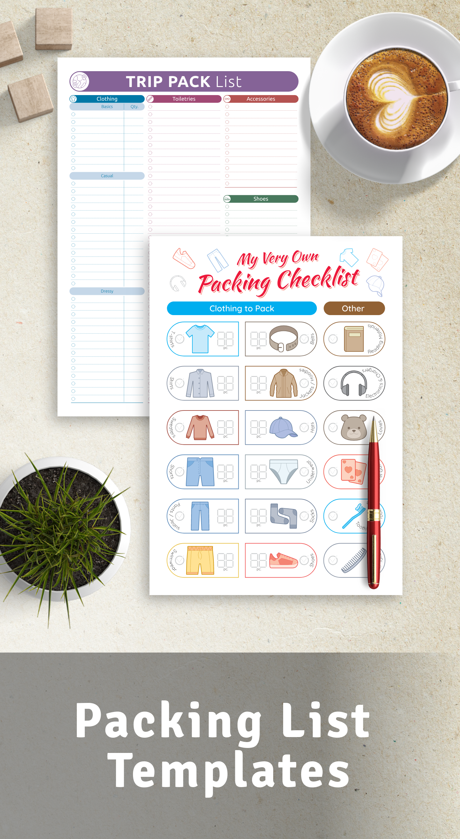 Best Packing List Templates