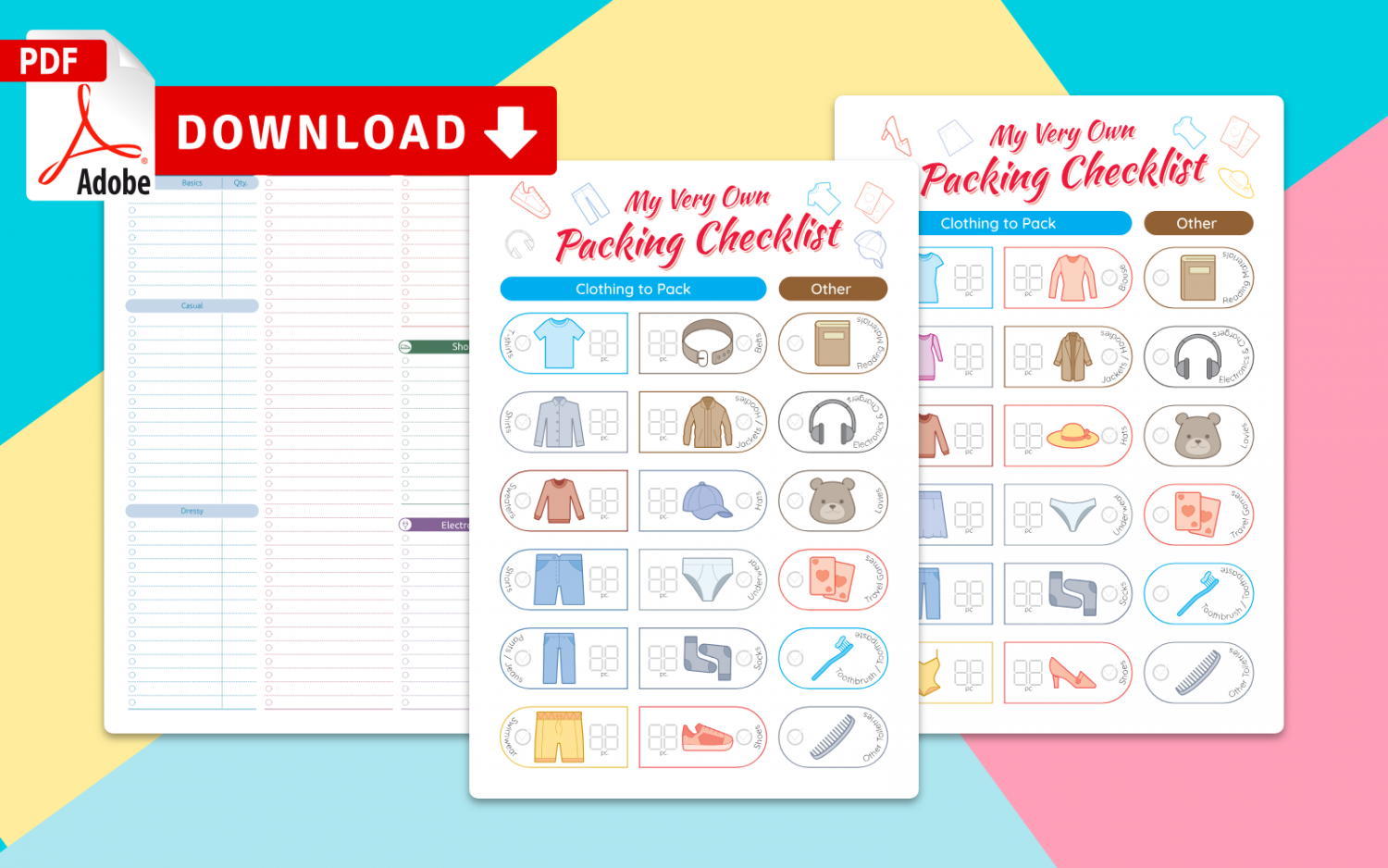 Get Packing List Templates