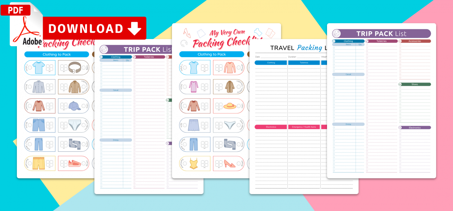 Save Packing List Templates PDF Now