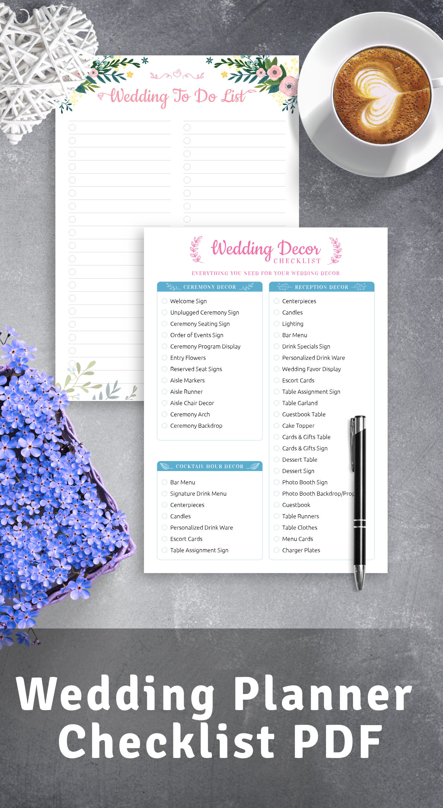 Best Wedding Planner Checklist PDF