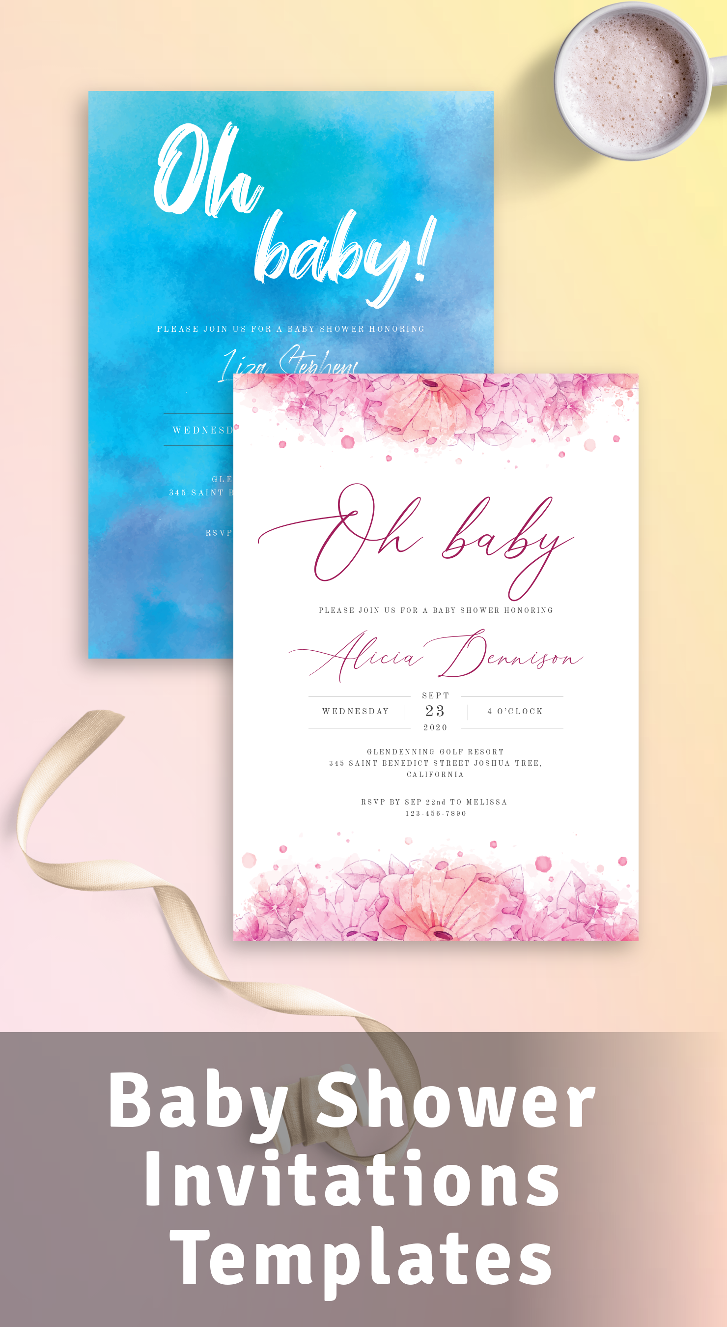 Customize and Get Baby Shower Invitations