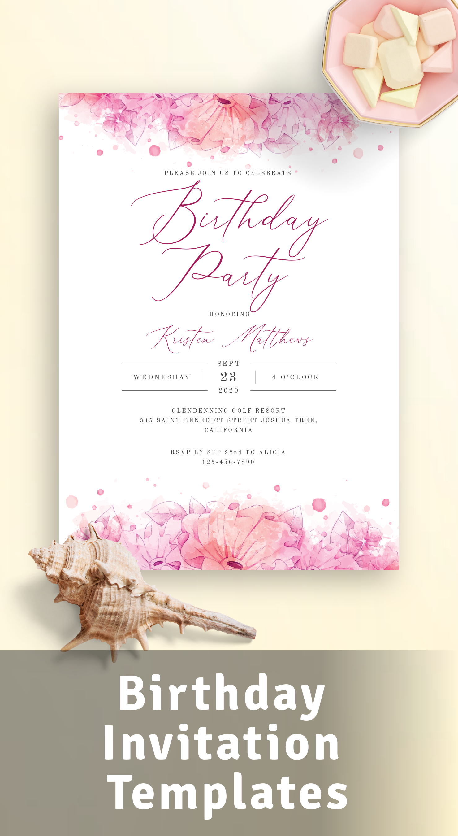 Best Birthday Invitation Templates