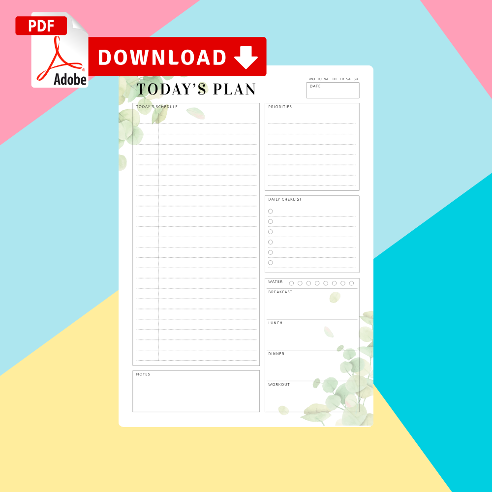 Download Daily Timetable Template