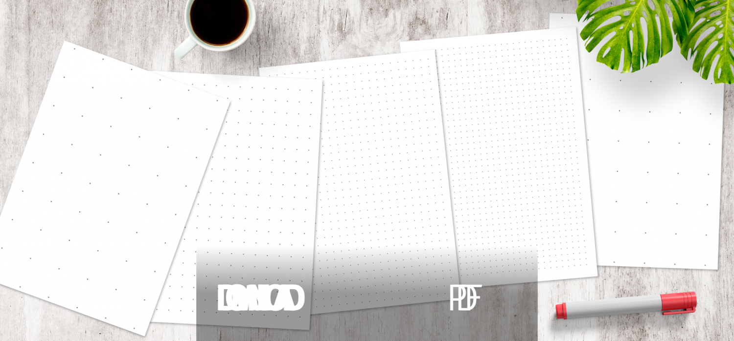 Dot Grid Paper Printable Templates