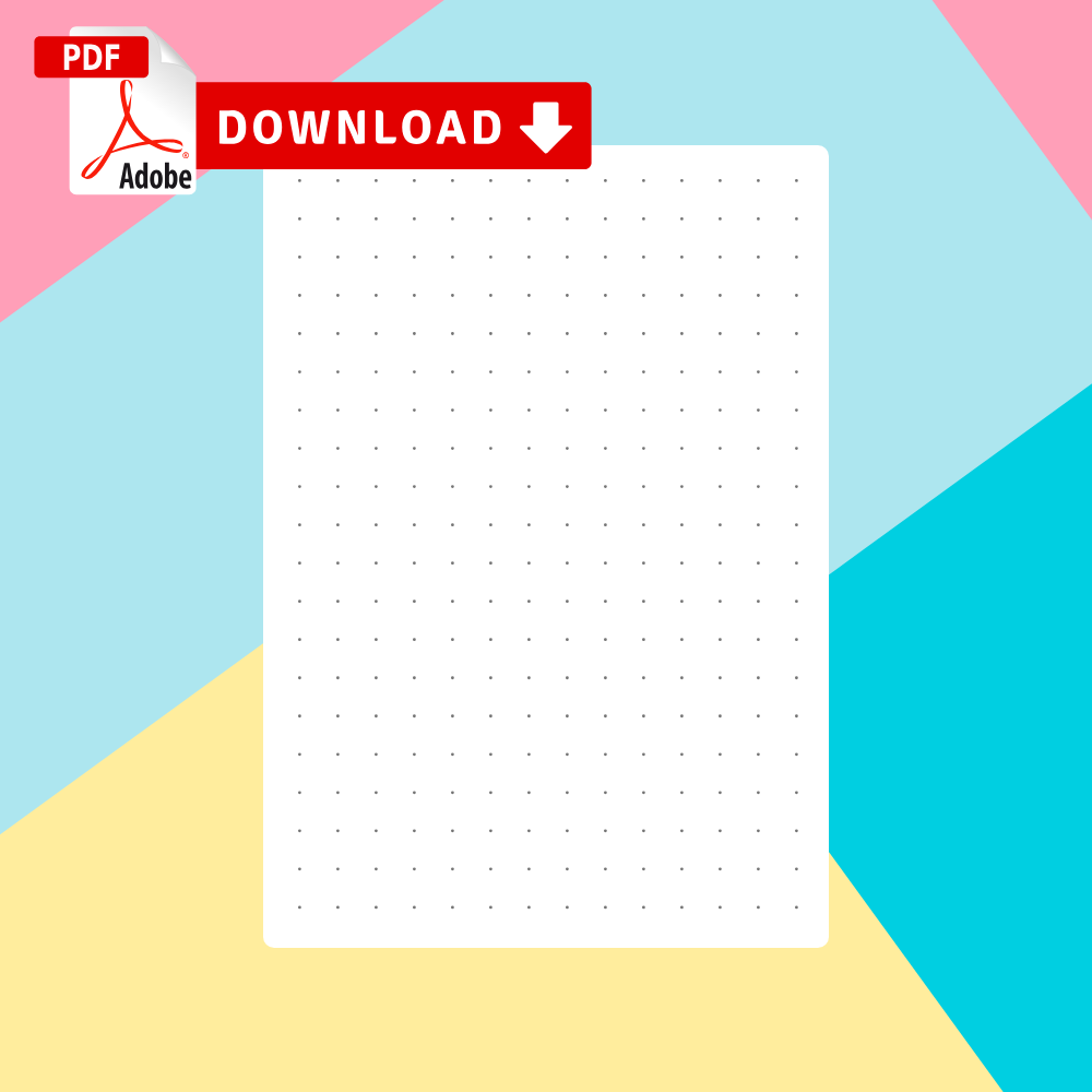 Download Dot Grid Paper Templates
