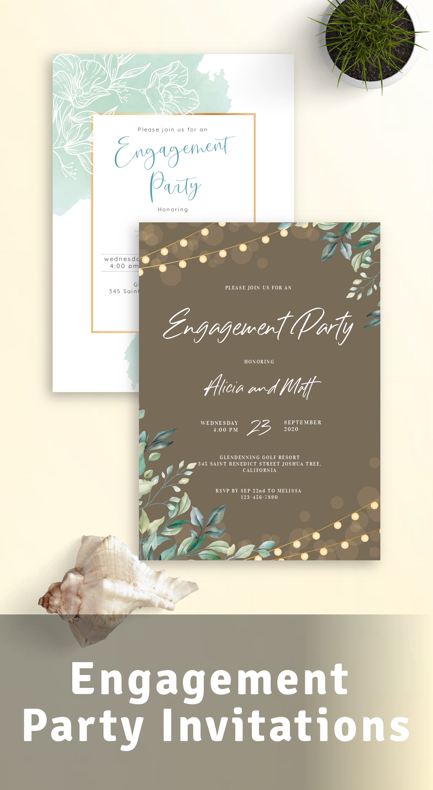 Best Engagement Party Invitations