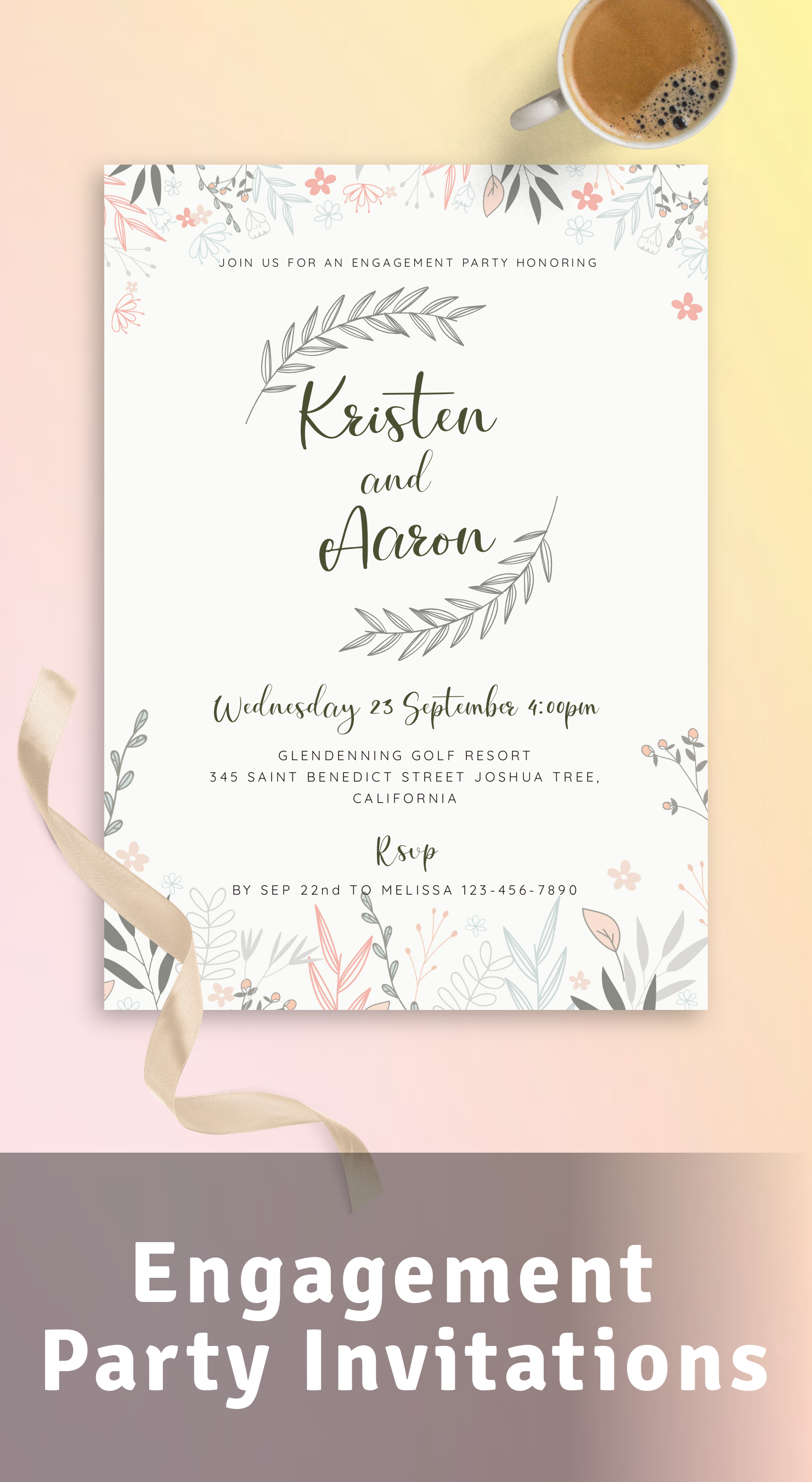 Get Cheap Engagement Party Invitations