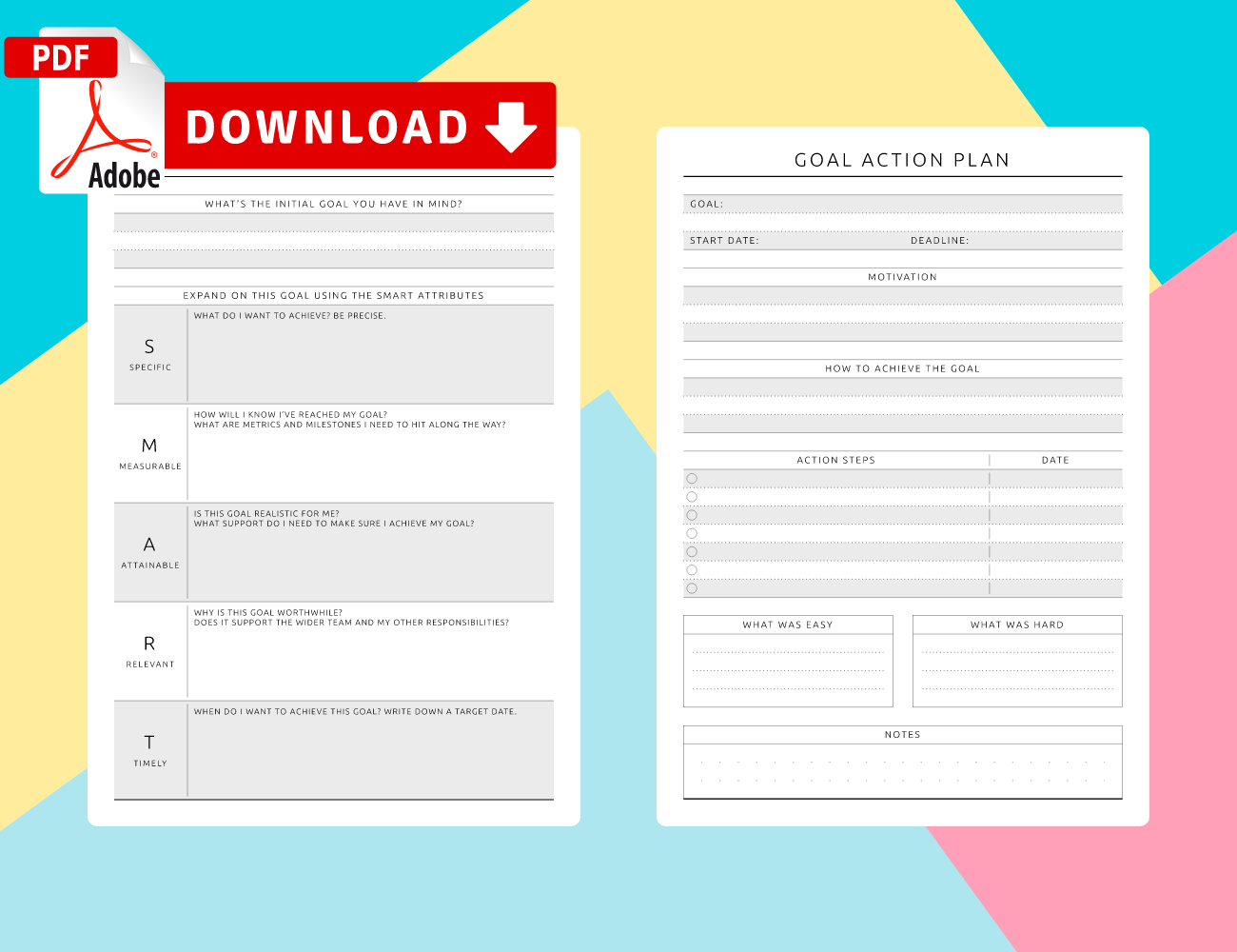 Goal Planner Worksheet