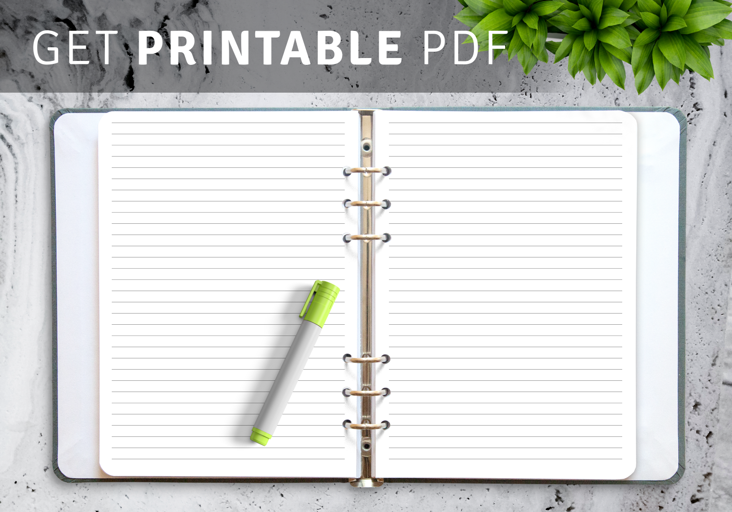 Best Lined Paper Templates