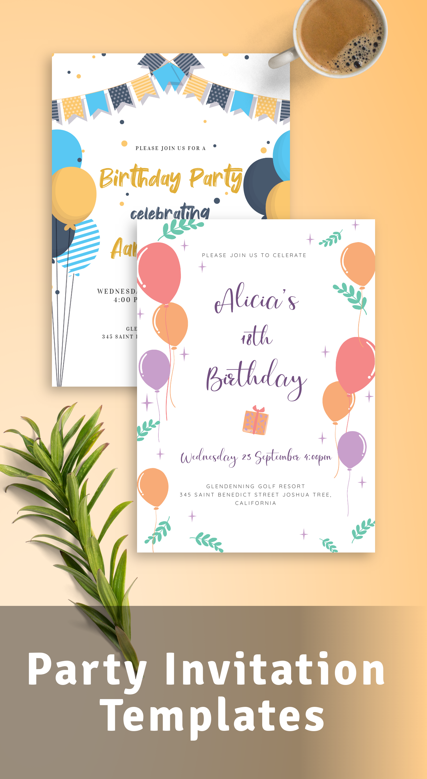 Best Party Invitation Templates