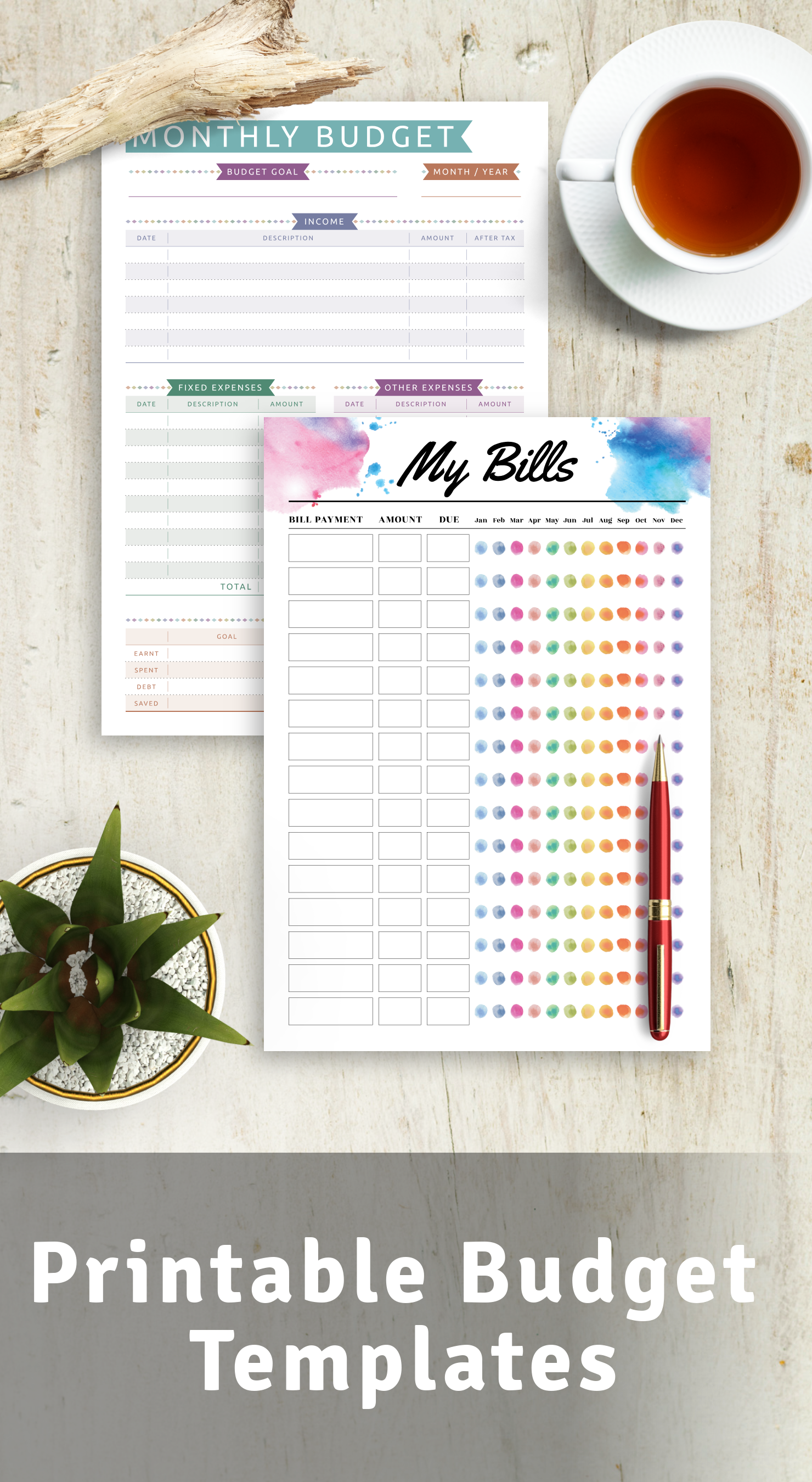 Best Printable Budget Templates PDF