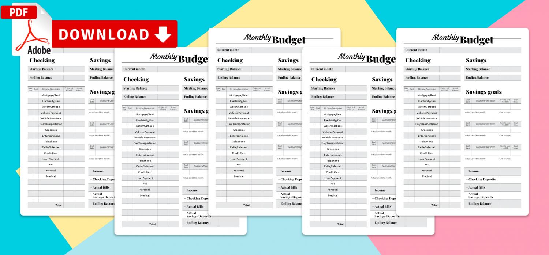 Budget Calendar Template from onplanners.com
