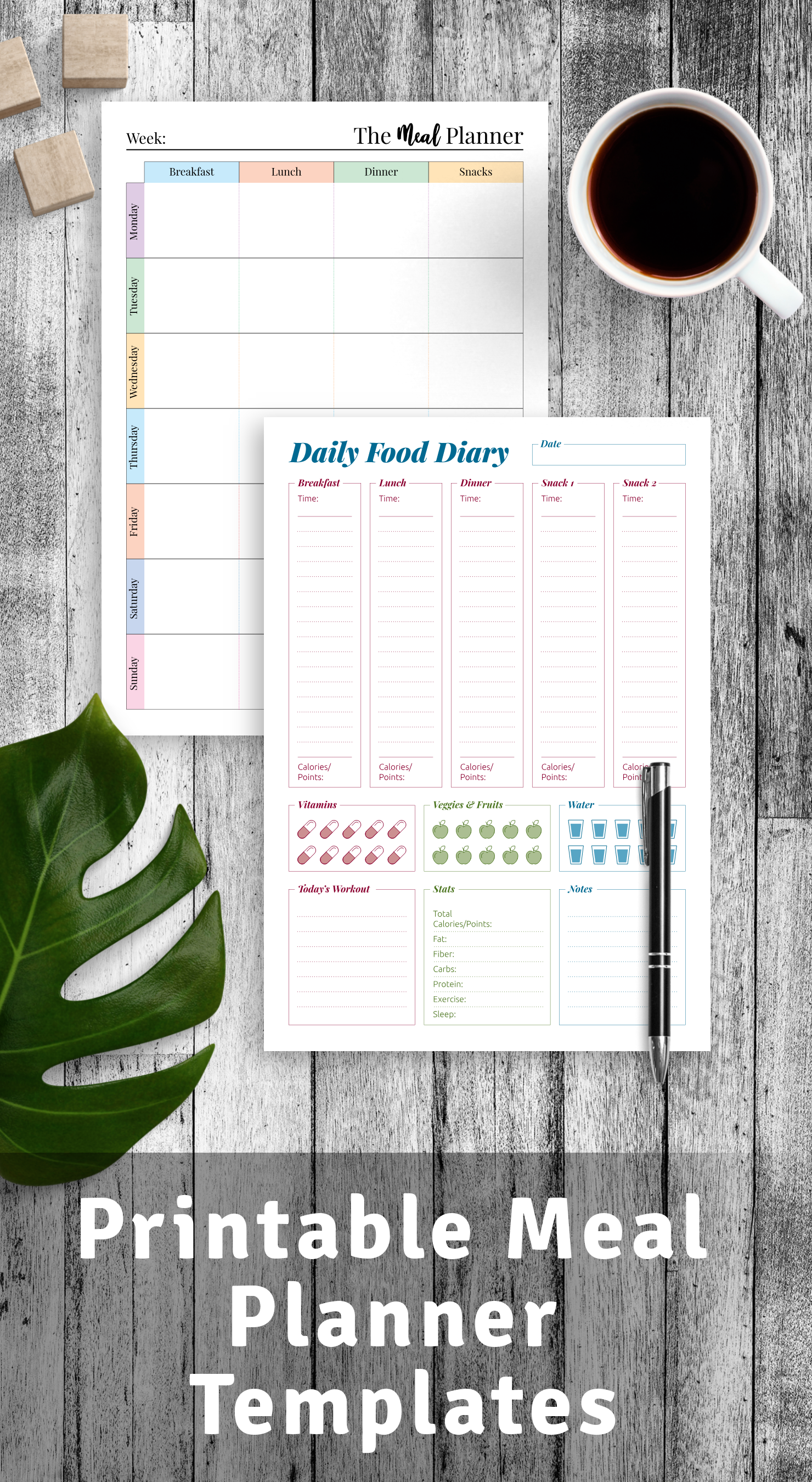 Best Meal Planner Templates PDF