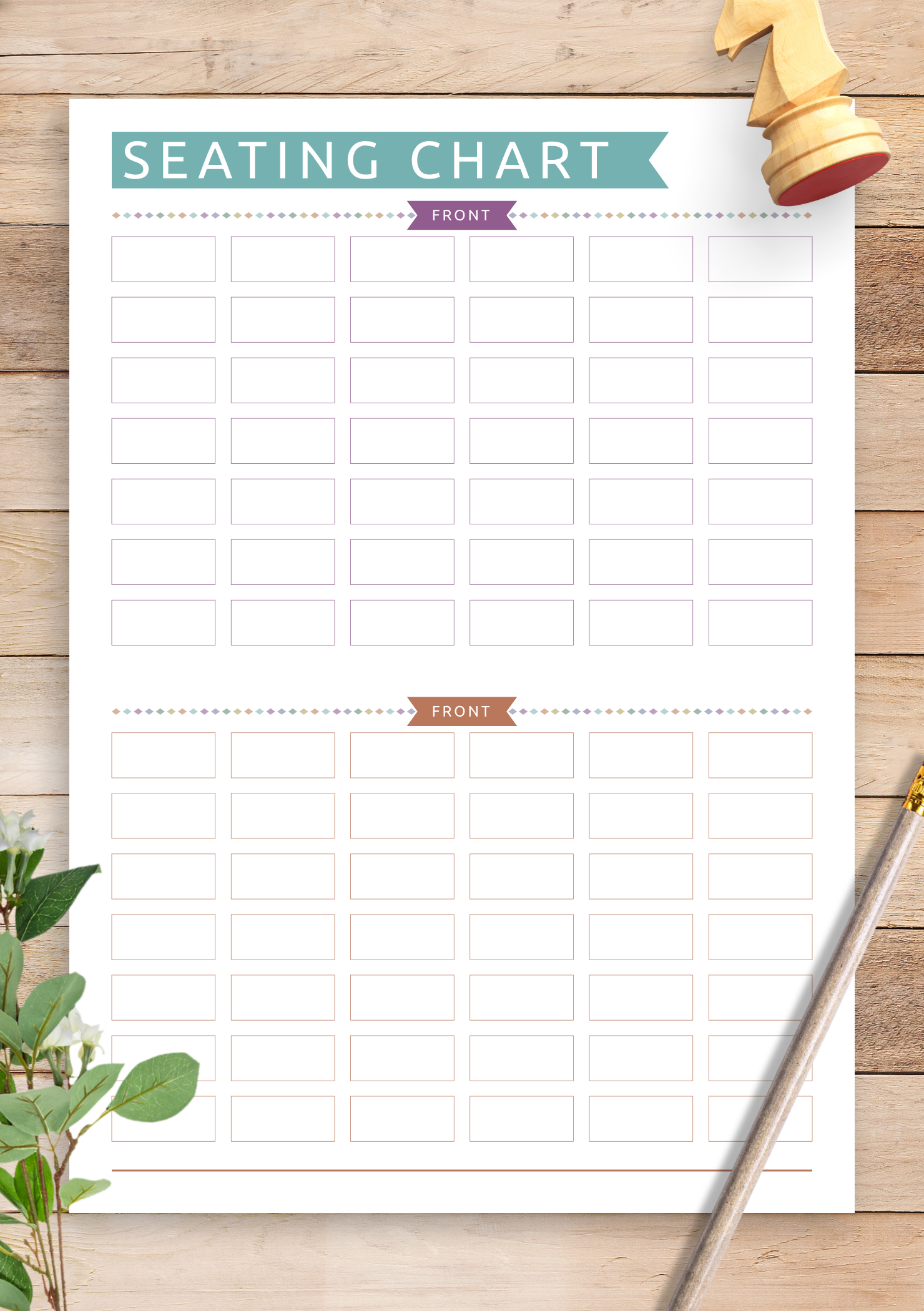 photo about Attendance Printable identified as Cost-free Printable Cl Attendance Seating Chart - Relaxed