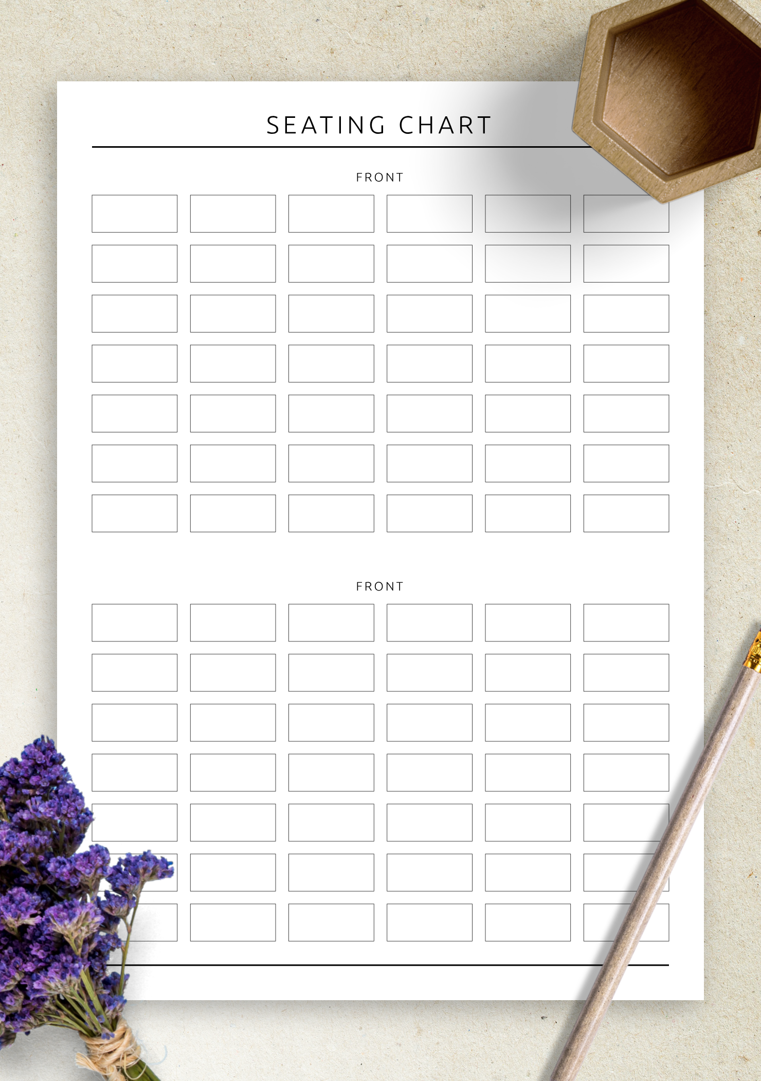 photograph about Attendance Printable identified as Cost-free Printable Cl Attendance Seating Chart - Initial