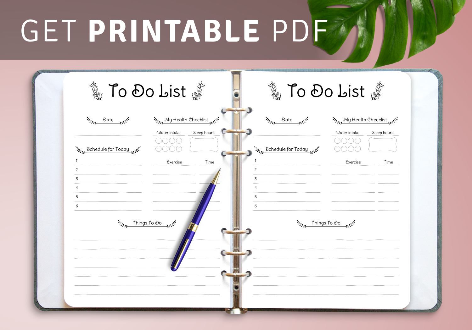 It is a photo of Printable to Do List Pdf pertaining to editable
