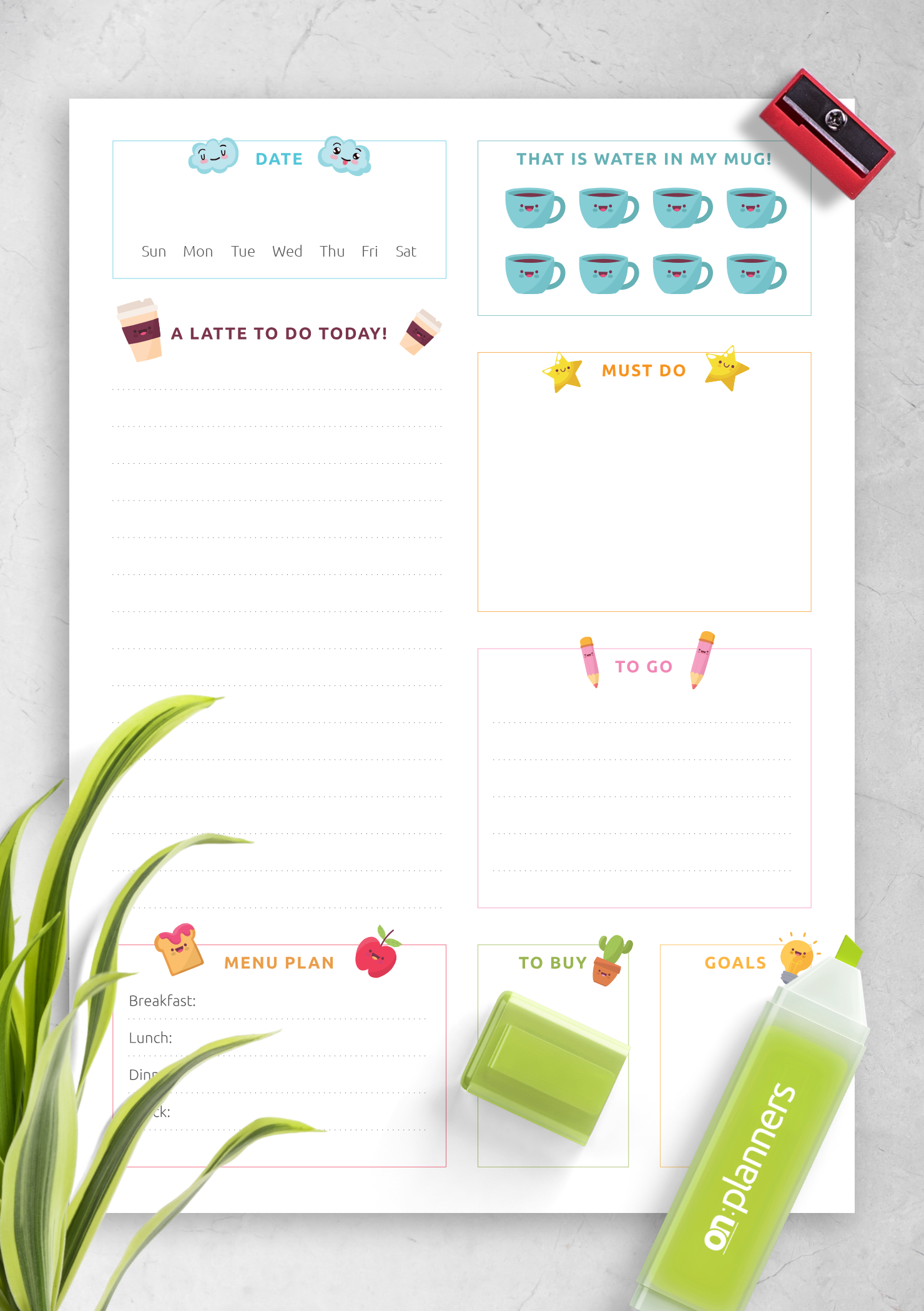 It's just an image of Happy Planner Recipe Printable throughout prayer