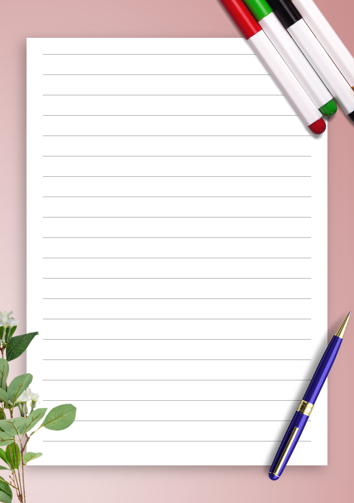 picture regarding Free Printable Lined Paper referred to as Absolutely free Printable Protected Paper Template 10mm PDF Down load