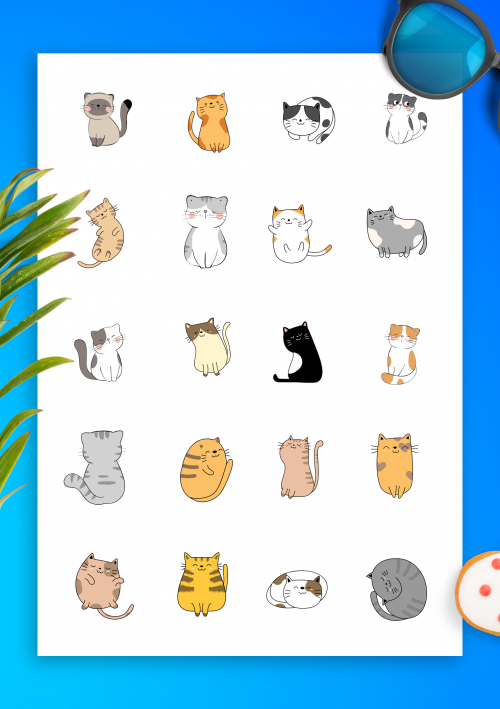 Printable Stickers 1000s Of Designs Download In Png